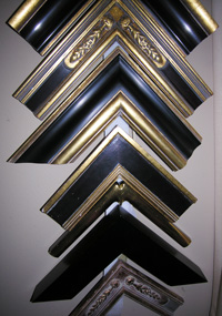 Hand-made frame samples