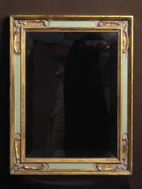A beautiful handmade frame for a mirror
